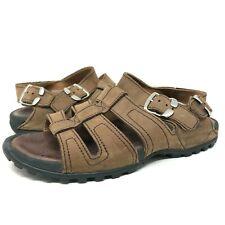 Nike ACG Sandals Brown Adjustable Buckle Straps Comfort Shoes Mens Size 12