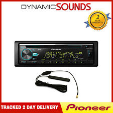 Pioneer DEH-X7800DAB Car Bluetooth Stereo DAB+ iPod iPhone Android + DAB Aerial