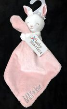 Baby Starters Bunny Rabbit Pink Baby Love Rattle Glitter Security Blanket Lovey