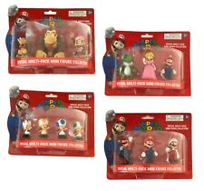 Nintendo Super Mario Mini Action Figure Figures Figurines Collectible Sets