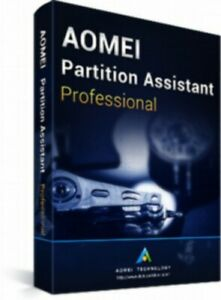 AOMEI Partition Assistant Pro - Latest Edition - Authorised Seller