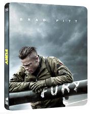 FURY - EDIZIONE SPECIALE STEELBOOK (BLU-RAY) con Brad Pitt, Shia Lebeouf