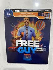 Free Guy - 4K Steelbook (New Sealed Ryan Reynolds Bestbuy Exclusive)