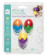 Easi-Grip Egg Crayons, toddler craft supplies