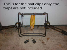 3 - 330  Body Grip BAIT HOLDERS, traps, trapping beaver