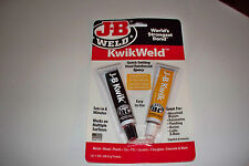 J B JB Kwik Weld Quick Setting Epoxy Glue Fills Bonds Small Engine Part Repairs