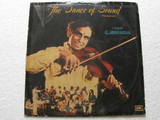The Dance of Sound Thillanas Tamil  LP Record Bollywood India-1292