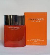 CLINIQUE HAPPY FOR MEN  3.4OZ COLOGNE SPRAY BRAND NEW IN BOX