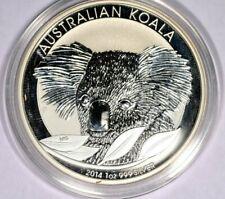 2014 Australian Koala 1oz Silver BU Coin