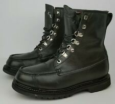 Cabelas Mens Size 8EE Dark Olive Leather Thinsulate GoreTex Hiking Outdoor Boots
