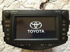 TOYOTA RAV4 genuine Radio voice navigation hdd B9017  bluetooth 86120-42370