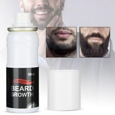60ML 100% Natural Beard Growth Spray Stimulator Grow Hair Grower Fast boost Pro
