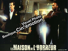 8 Photos 21x28cm (1999) LA MAISON DE L'HORREUR Geoffrey Rush, Famke Janssen BE