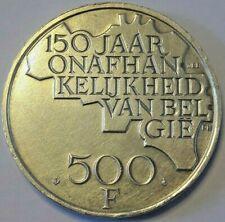 500 FranK Belgïe 1980 NL FL  Boudewijn  KM# 162