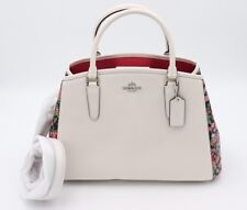 NWT Coach Margot Posey Cluster Multi Floral Print Carryall Convertible Bag 57631