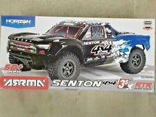 Arrma Senton 4X4 V3 3S Blx 1/10 Rtr Brushless Sc Truck Blue Ara4303V3T1 New!