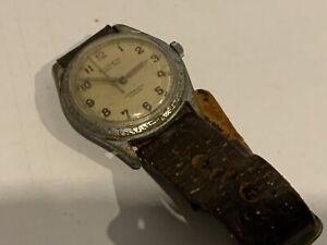 War time mans wristwatch