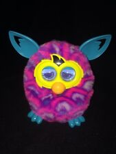 2012 Furby Boom Purple Pink Blue~Yellow Eyes~Blue Ears/fee Works Great Clean EUC