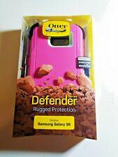 Pink OtterBox Defender Series Phone Case w/ Holster Belt Clip Samsung Galaxy S6