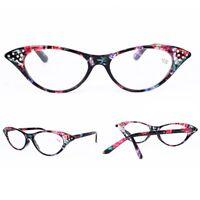 New Sexy Cat Eye Reading Glasses Fashion Readers Retro 1.0 1.5 2.0 2.5 3.0 3.5