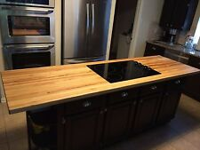 "Forever Joint Rock Hard Maple Butcher Block Top 1-1/2""x26""x96"" Wood Countertop"