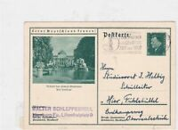 germany 1933 telephone slogan stamps post card Ref 9772