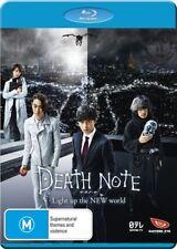Death Note Light up the New World NEW B Region Blu Ray