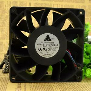 DELTA FFB1424SHG Strong wind Cooling fan DC24V 2.30A 140*140*50mm 4pin PWM
