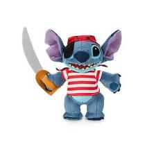 Disney Stitch Pirates of the Caribbean Disney Cruise Line Plush New with Tag