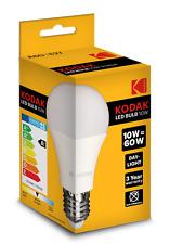 3 X KODAK LED GLOBE A60 BULB E27 10W/60W DAY LIGHT (ENERGY CLASS A+) 30415669