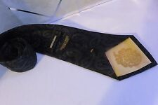 President DONALD J.TRUMP Signature Collection 100% Silk Black Paisley Men's Tie