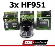 3x HIFLO Filtro Aceite HF951 Honda Sw-T 400 D Fjs Ala Plateada