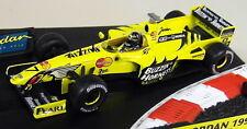 Hot Wheels 1/43 Scale - 22811 Jordan 199 Damon Hill F1 Diecast Model Car