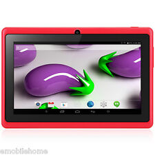 "7"" Q88H A33 Android PC Tablette Quad Core 1.2GHz 512MB+8Go Dual Camera Rouge"