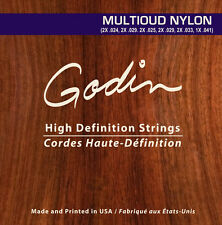Godin Saiten für/strings for Godin MultiOud Nylon
