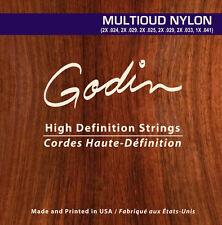 Godin Saiten für/strings for Godin MultiOud Nylon
