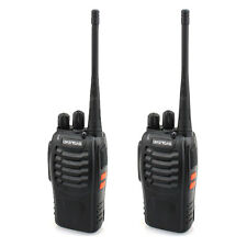 2 x Baofeng BF-888S UHF 400-470MHz ABS Handheld Two-way Ham Radio