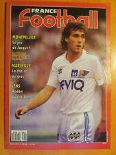 France Football N° 2260 du 01/08/1989-Montpellier jeu de Jacquet-Marseille-Lens