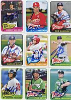 Carson Kelly signed 2014 Topps Heritage Minors Rookie card auto