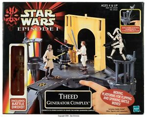 Star Wars Hasbro 1999 (Episode 1) Theed Generator Complex