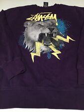 Vtg Stussy Sweater Purple Usa Medium Shirt sweat shirt