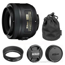 Nikon 35mm f/1.8G AF-S DX Nikkor Lens for Nikon Digital SLR Cameras BRAND NEW