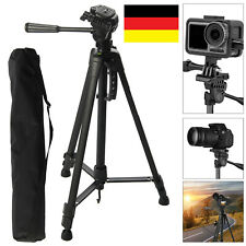 Profi Kamera Stativ 141cm Standhalter Halterung für iPhone 12 Handy Sony