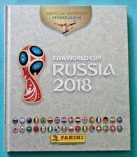 Album complet crème blanc Russia 2018 championnat monde PANINI  images collées