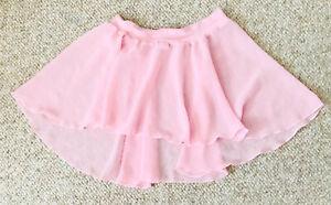Natalie Pale Ballet Pink Dance Elastic Wrap Slip on Skirt Tap Jazz Girls Child S