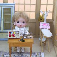 1:12 Miniature Sewing Machine Simulation Furniture for Dollhouse Decoration SE