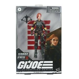 GI Joe Classified Series SCARLETT 20 Snake Eyes Origins Movie Figure SHIPS 9/28