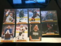 2020-21 UPPER DECK SERIES  2 CANVAS BASE USA LOT OF 8