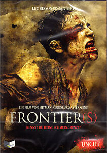 Frontier (s) , 100% uncut ,new, french and german Audio , Luc Besson , Frontiers