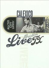 Calexico - Live from Austin, TX (DVD, 2009) NEW R4